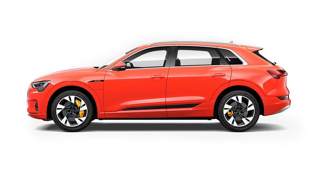 Audi  E-tron Catalunya Red Metallic Colour