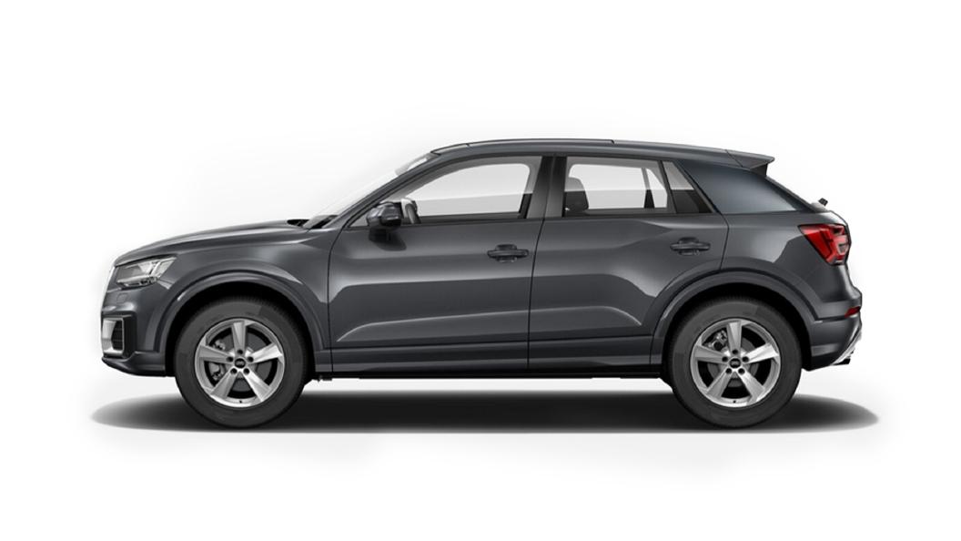 Audi  E-tron Daytona Gray Pearl Effect Colour
