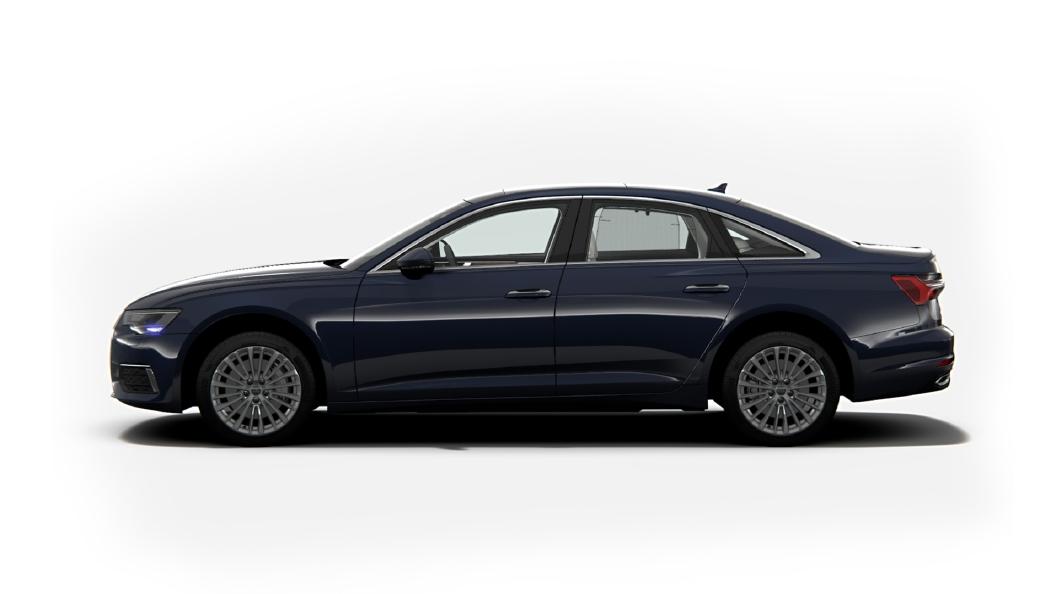 Audi  E-tron Firmament Blue Metallic Colour