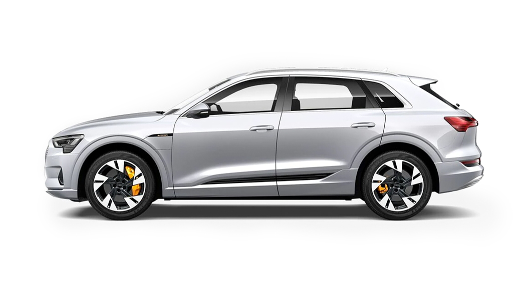 Audi  E-tron Floret Silver Metallic Colour