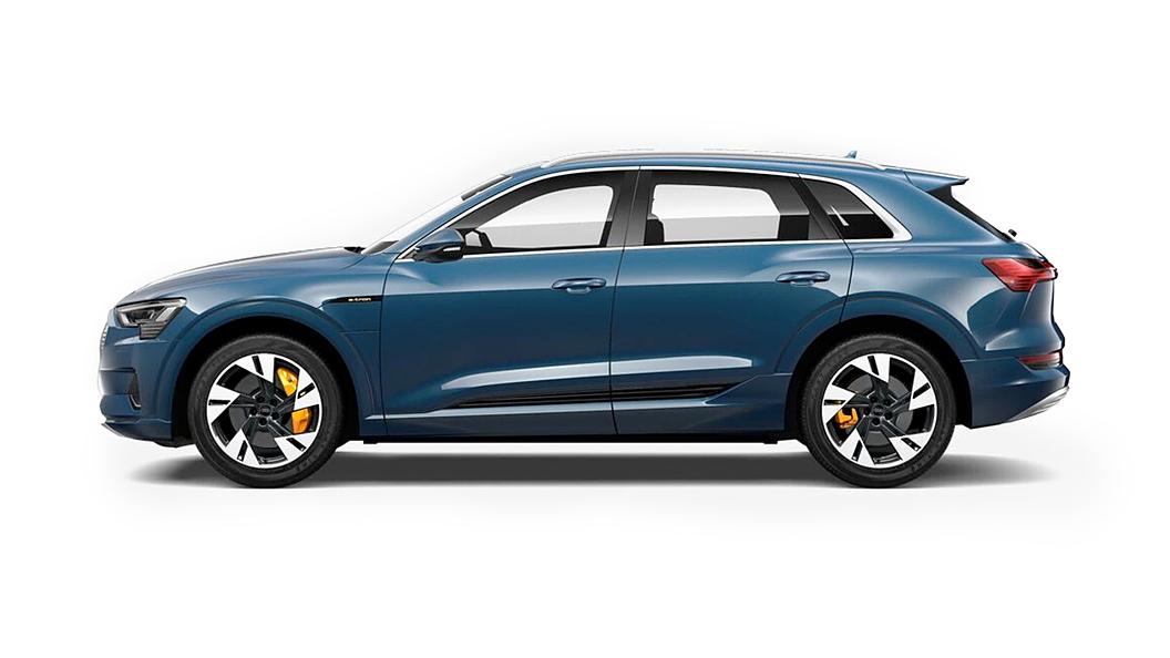 Audi  E-tron Galaxy Blue Metallic Colour