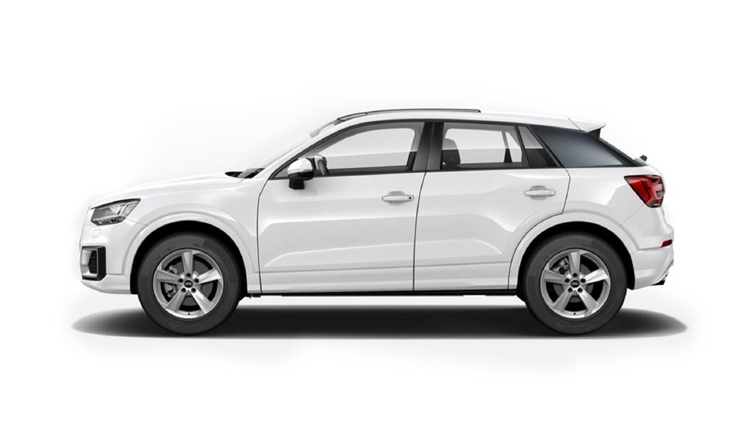 Audi  E-tron Ibis White Colour