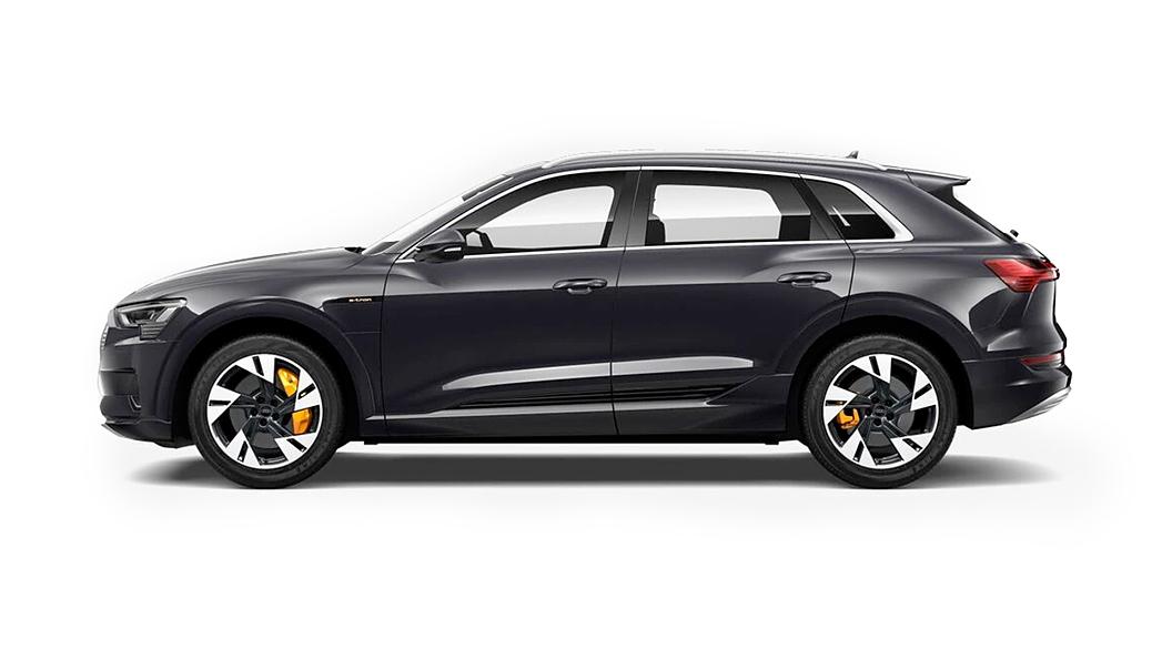 Audi  E-tron Mythos Black Metallic Colour