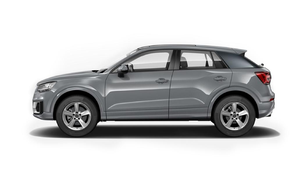 Audi  E-tron Quantum Gray Metallic Colour