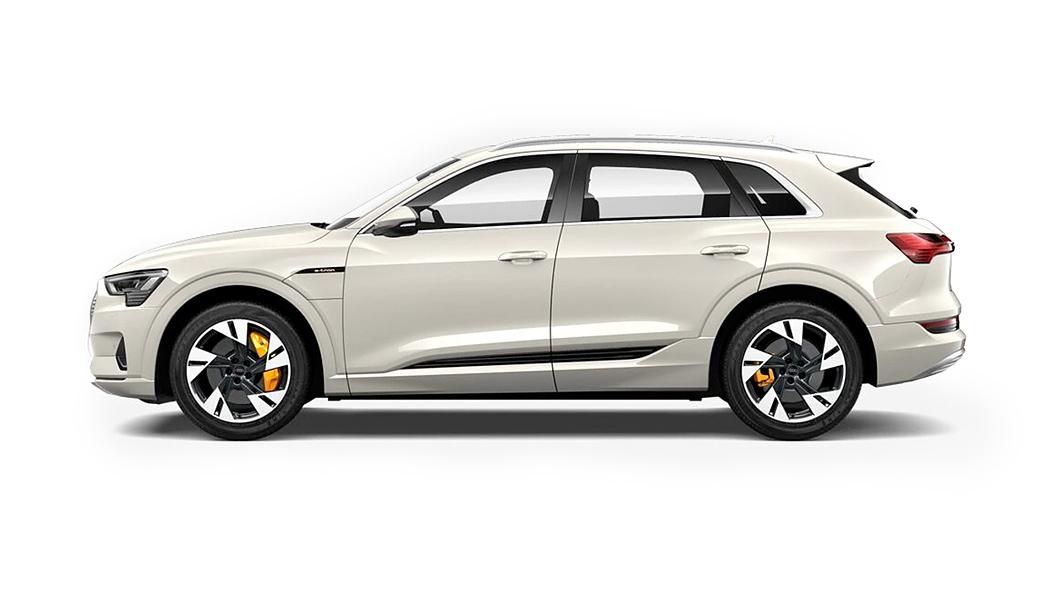 Audi  E-tron Siam Beige Metallic Colour