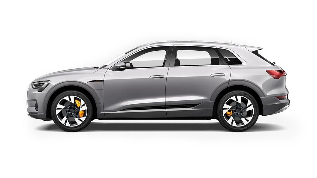 Audi  E-tron Typhoon Gray Metallic Colour