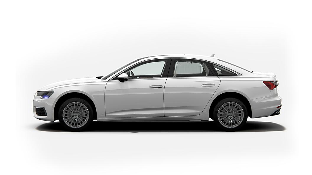 Audi  A6 Ibis White Colour