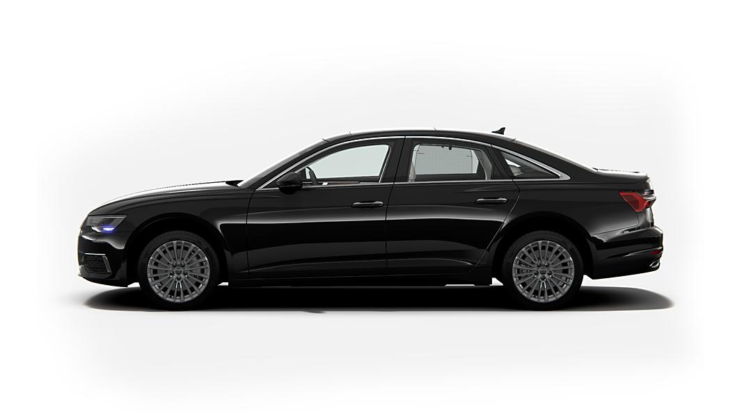 Audi  A6 Mythos Black Metallic Colour