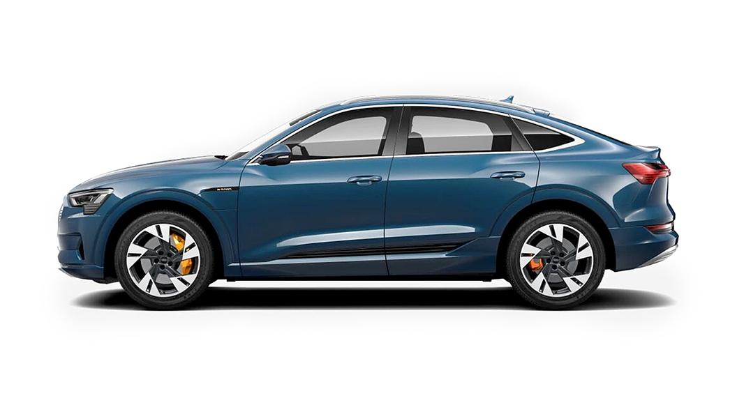 Audi  E-tron Sportback Galaxy Blue Metallic Colour