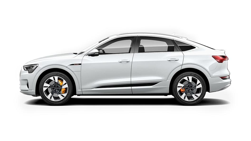 Audi  E-tron Sportback Glacier White Metallic Colour