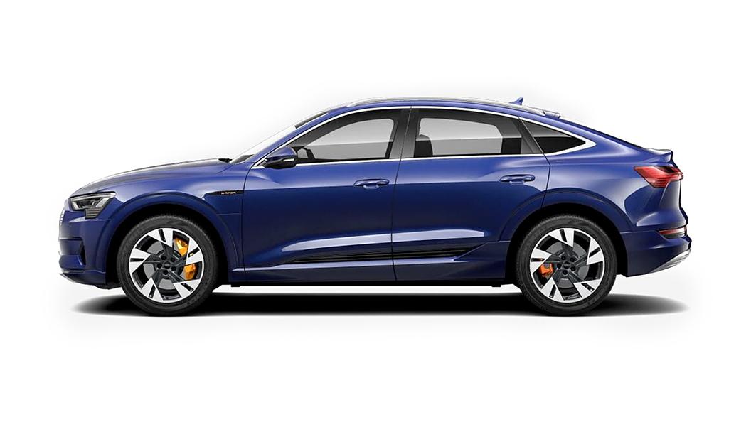 Audi  E-tron Sportback Navarra Blue Metallic Colour