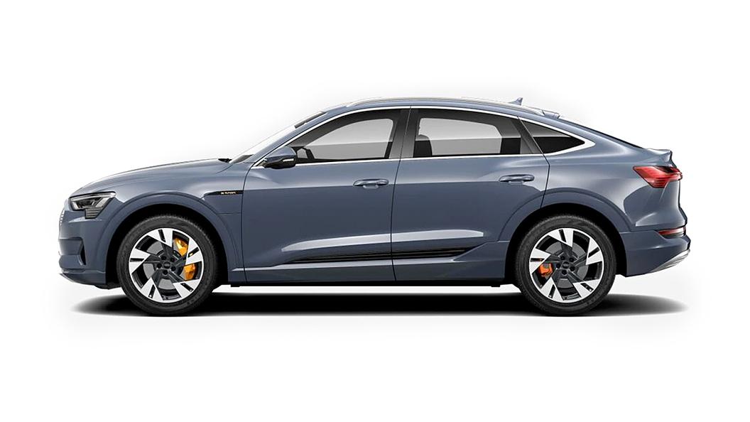 Audi  E-tron Sportback Plasma Blue Metallic Colour