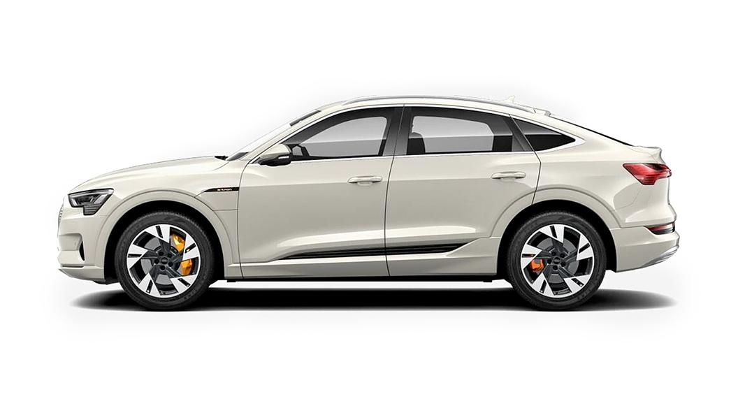 Audi  E-tron Sportback Siam Beige Metallic Colour