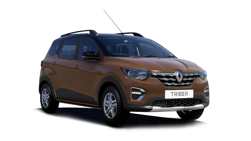 Renault  Triber Cedar Brown with Black Roof Colour