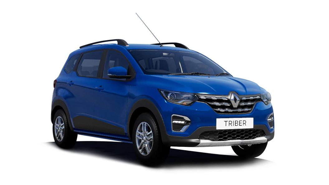 Renault  Triber Electric Blue Colour