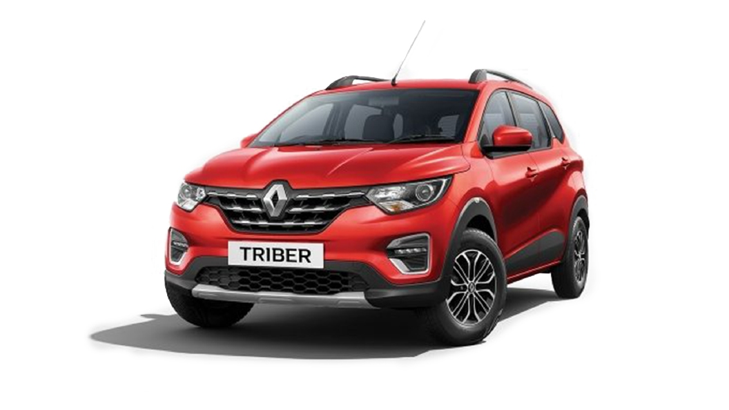 Renault  Triber Fiery Red Colour