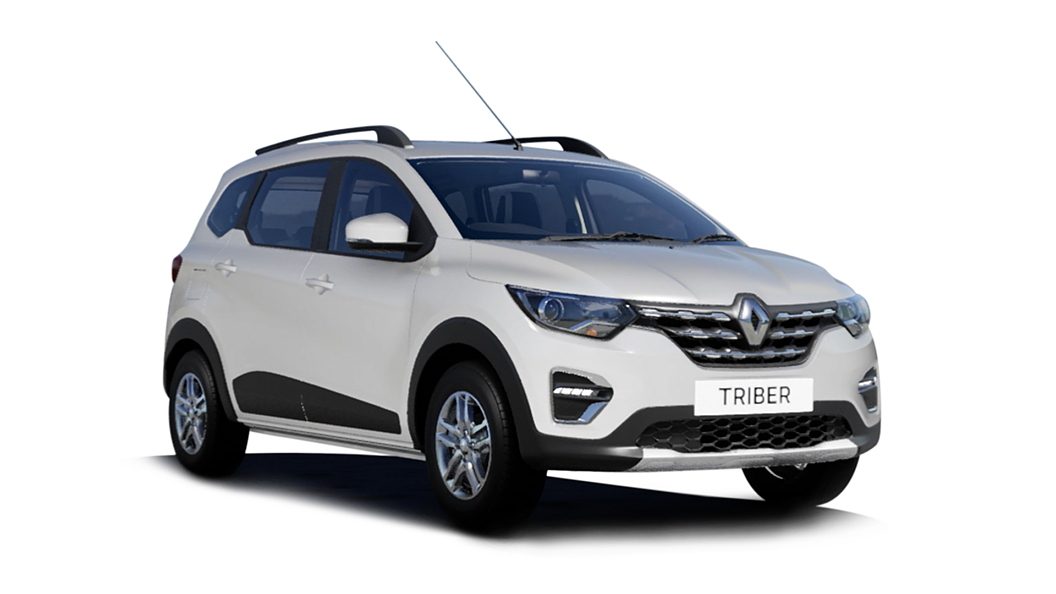 Renault  Triber Ice Cool White Colour