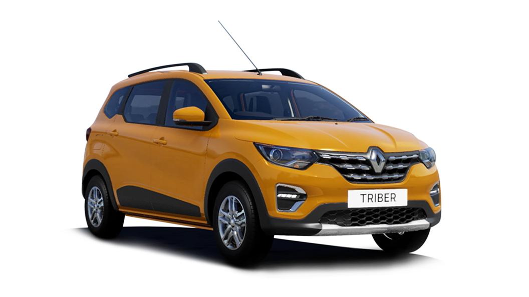 Renault  Triber Metal Mustard Colour