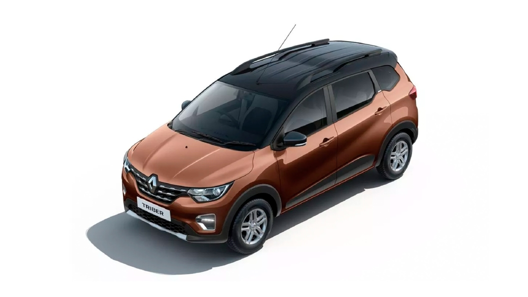 Renault  Triber New Cedar Brown with Black Roof Colour