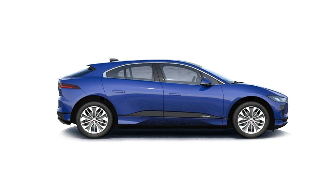 Jaguar  I-Pace Caesium Blue Metallic Colour