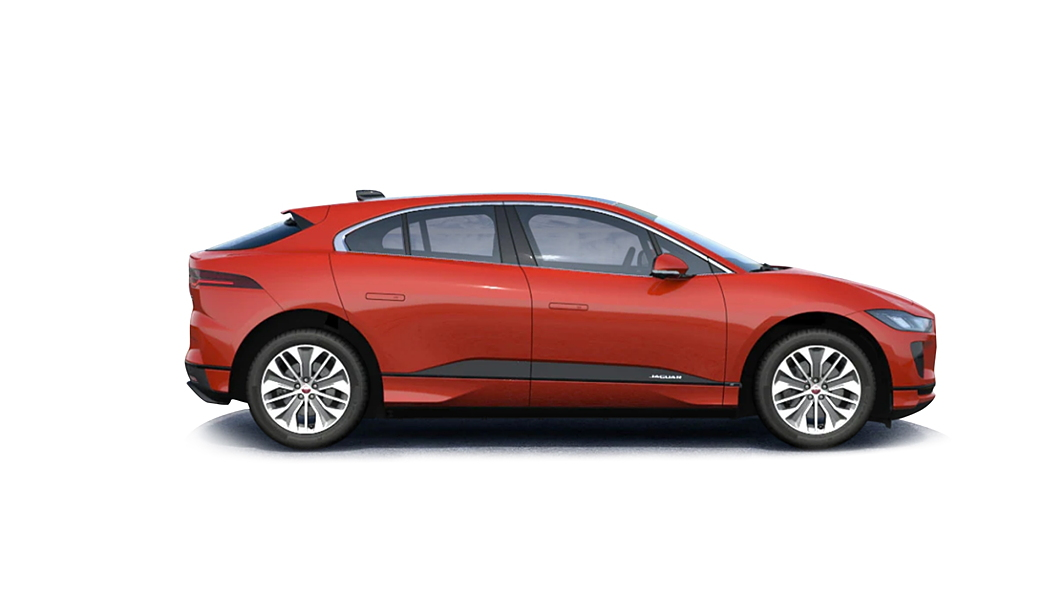 Jaguar  I-Pace Caldera Red Colour