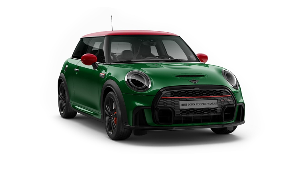 Mini  Cooper JCW British Raving Green IV Metallic Colour