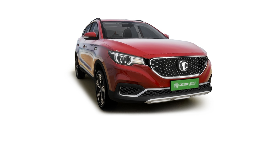 MG  ZS EV Currant Red Colour