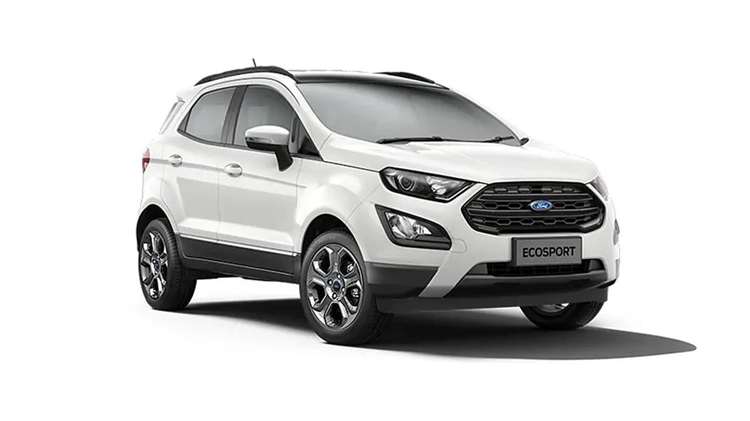 Ford  EcoSport Diamond White Colour
