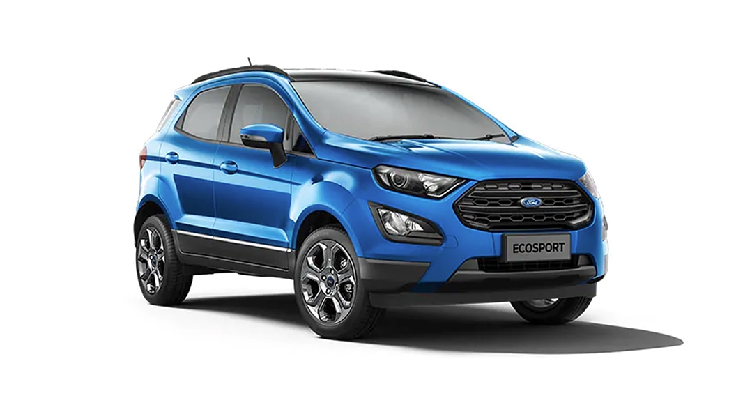 Ford  EcoSport Lightning Blue  Colour