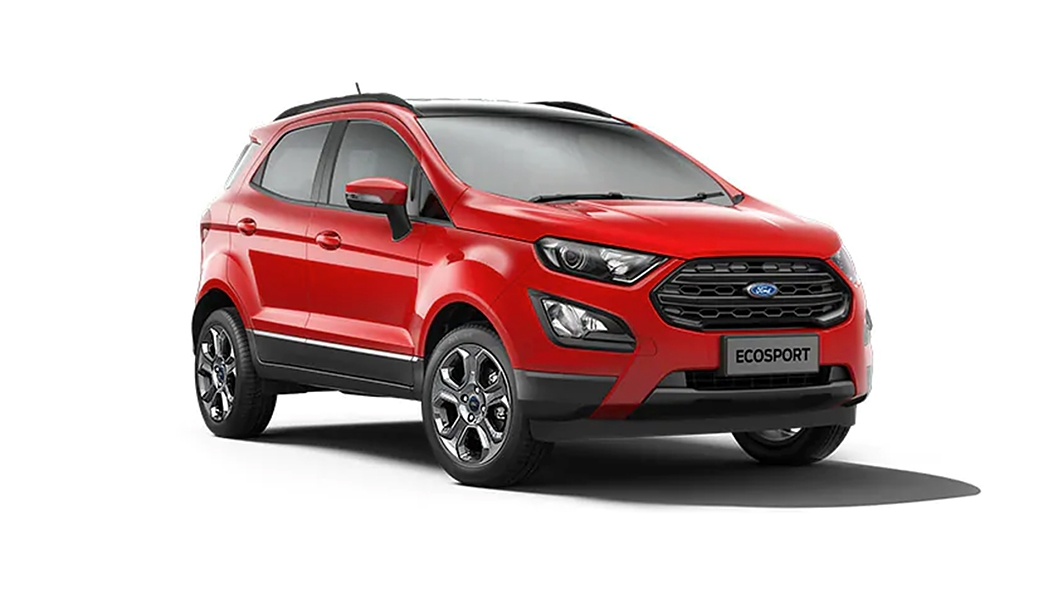 Ford  EcoSport Race Red Colour