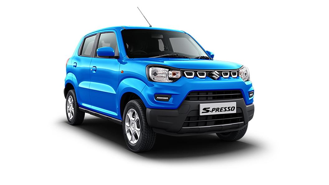 Maruti Suzuki  S-Presso Pearl Starry Blue Colour