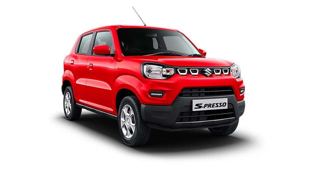 Maruti Suzuki  S-Presso Solid Fire Red Colour