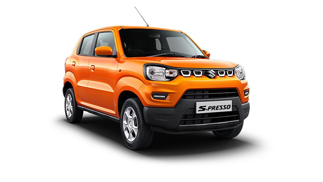 Maruti Suzuki  S-Presso Solid Sizzle Orange Colour