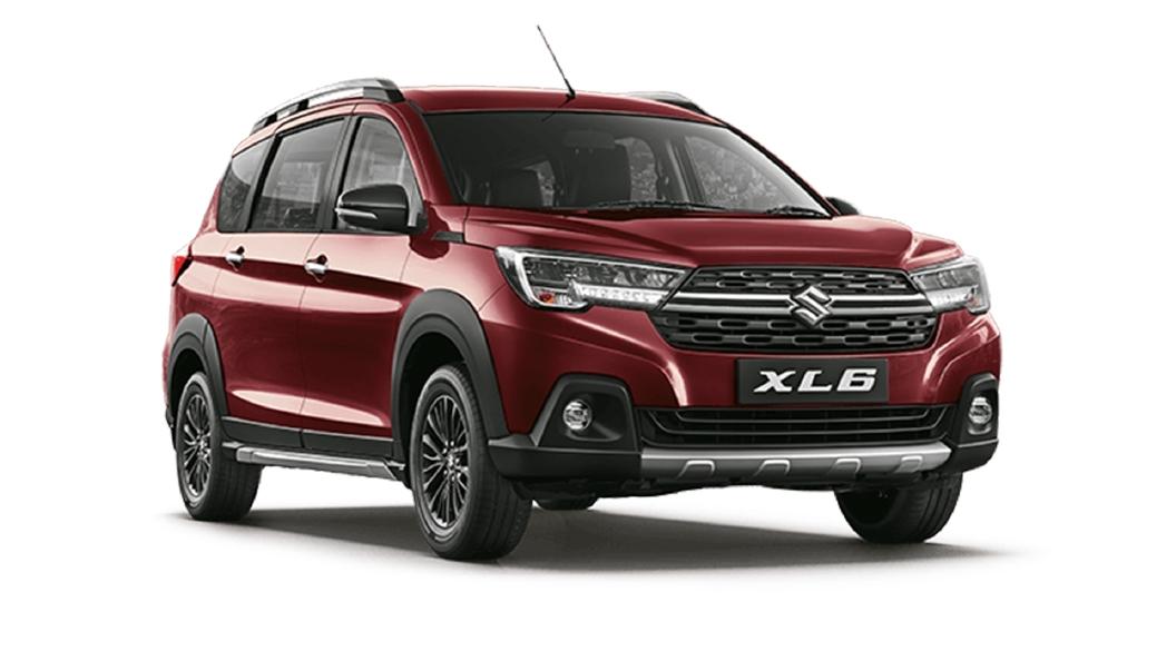 Maruti Suzuki  XL6 Prime Auburn Red Colour