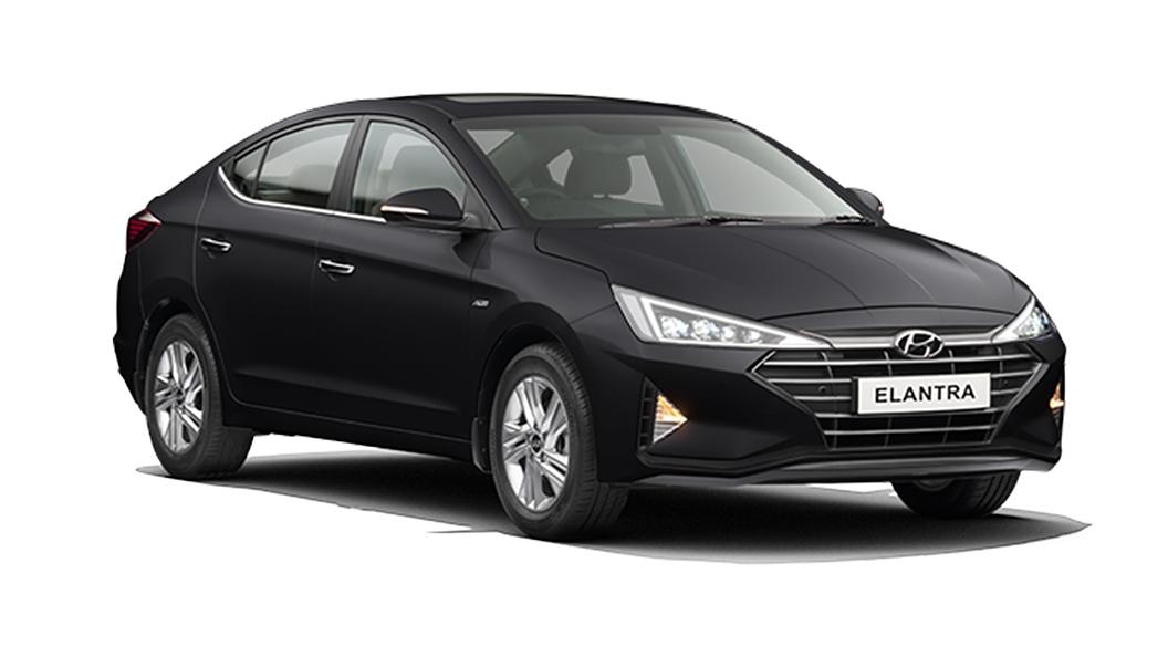 Hyundai  Elantra Phantom Black Colour