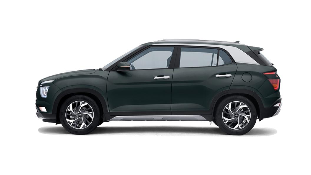 Hyundai  Creta Deep Forest Colour