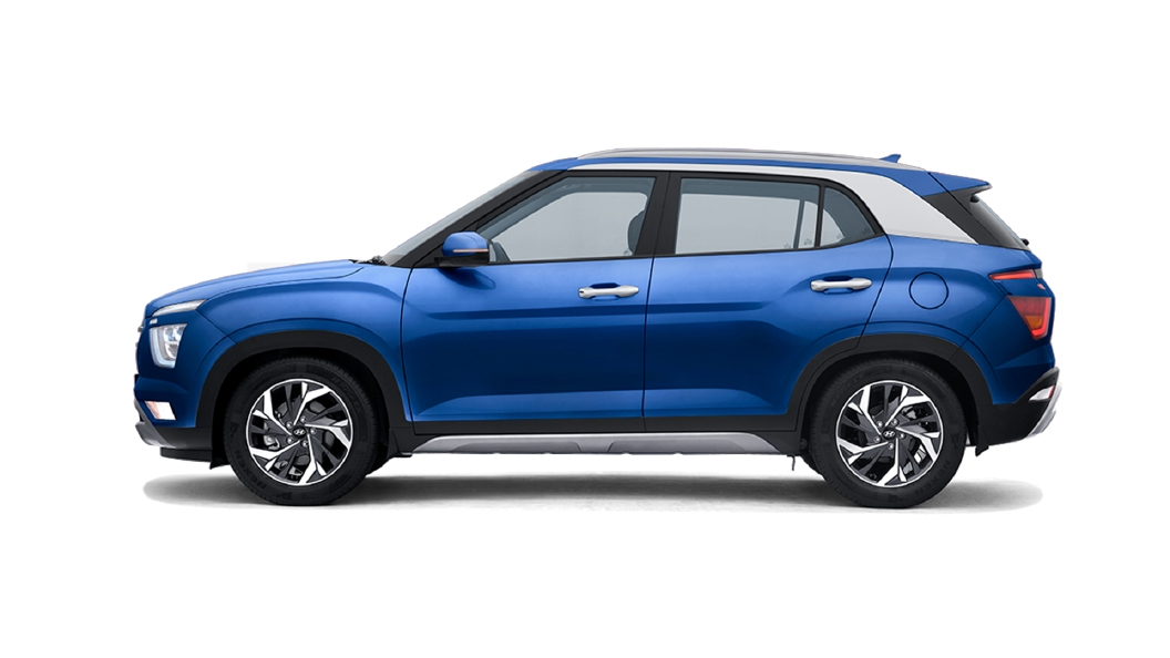 Hyundai  Creta Galaxy Blue Colour