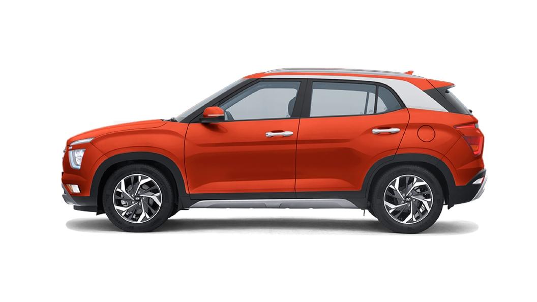 Hyundai  Creta Lava Orange Colour