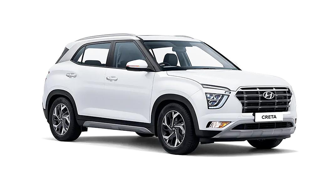 Hyundai  Creta Polar White Colour