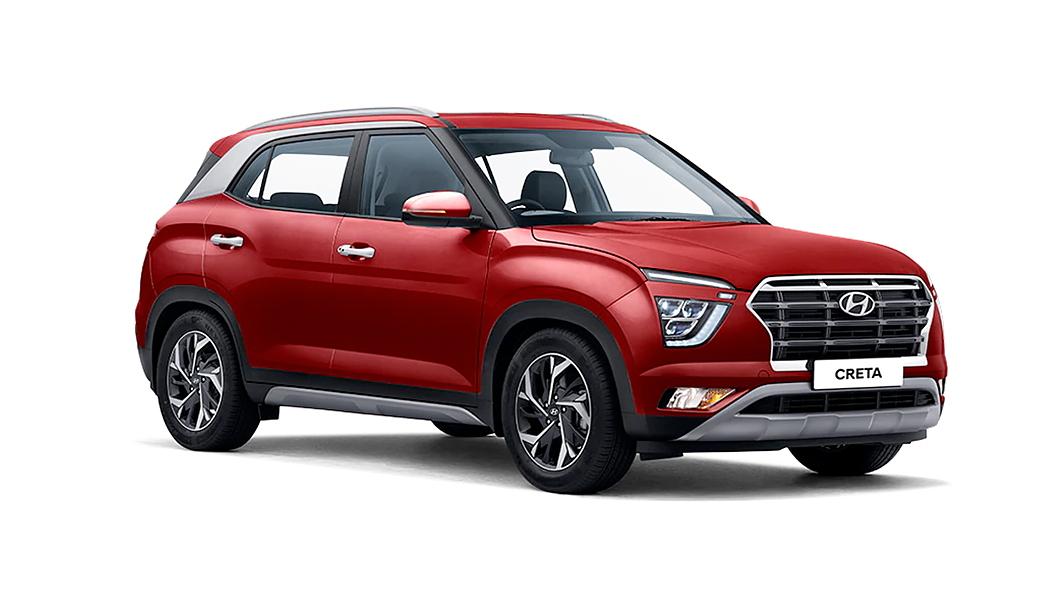 Hyundai  Creta Red Mulberry Colour