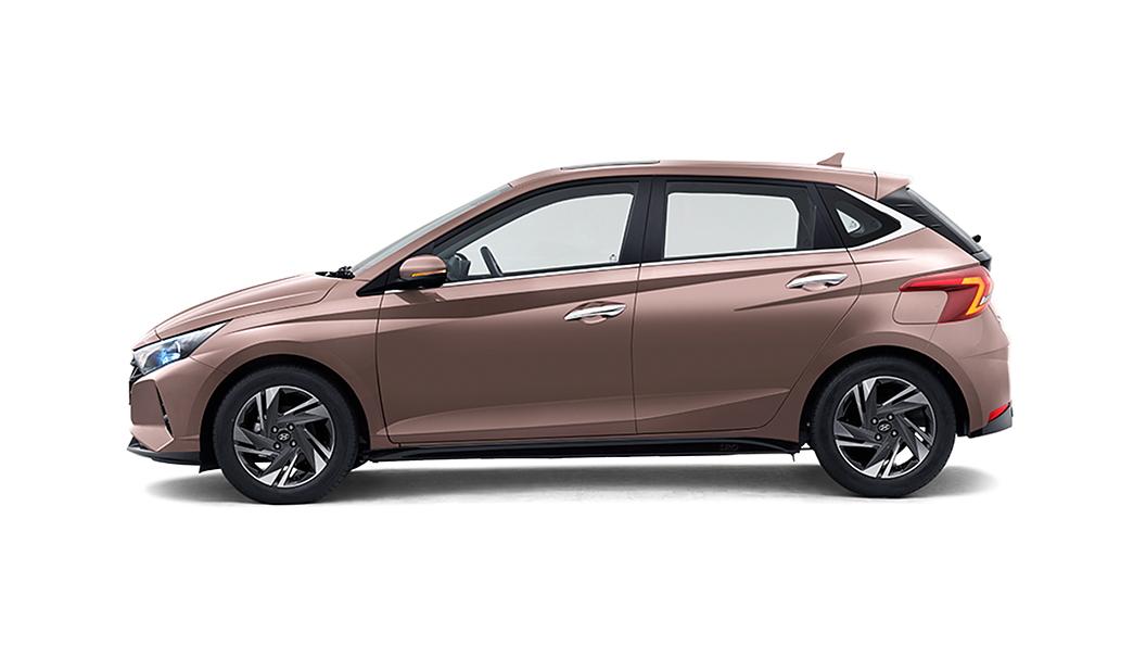 Hyundai  I20 Metallic Copper Colour
