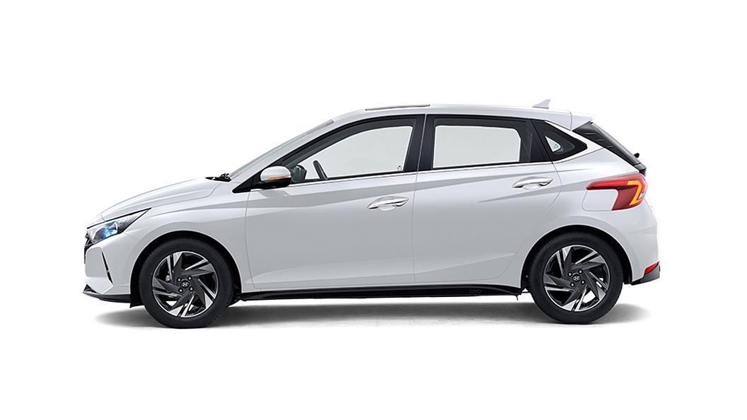 Hyundai  I20 Polar White Colour