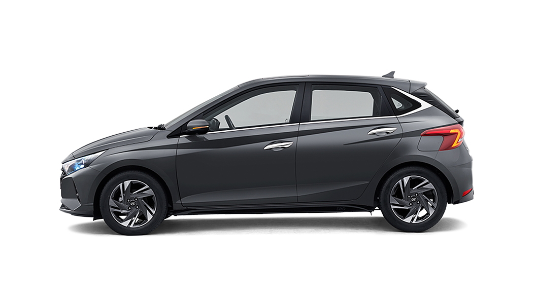 Hyundai  I20 Titan Grey Colour