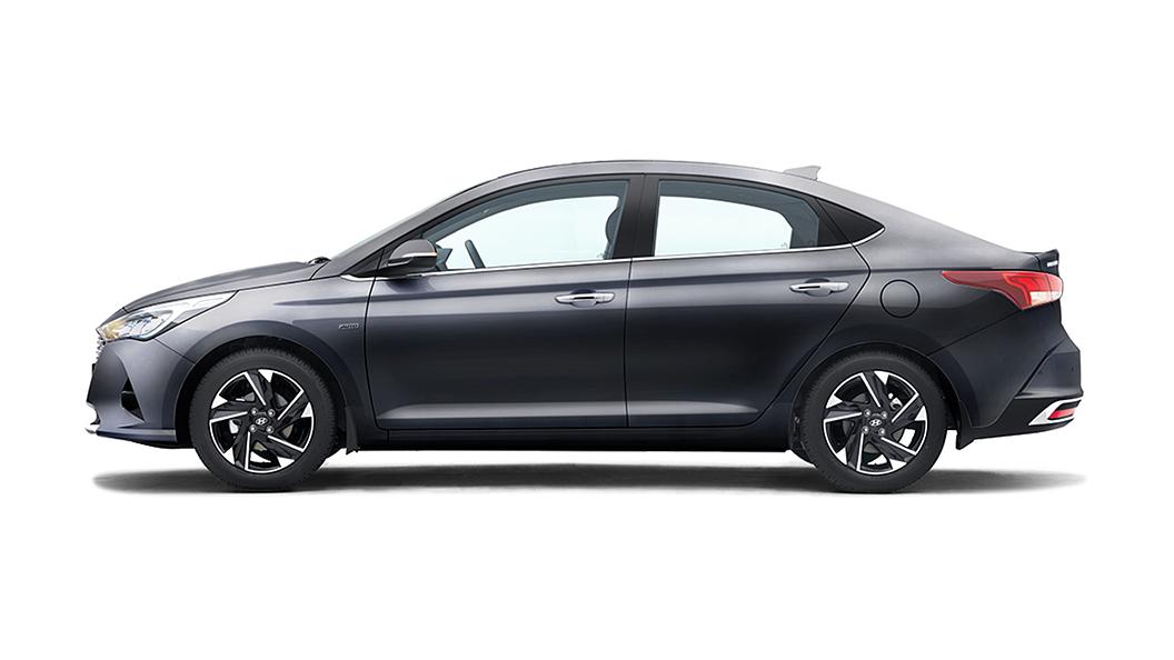 Hyundai  Verna Titan Grey Colour