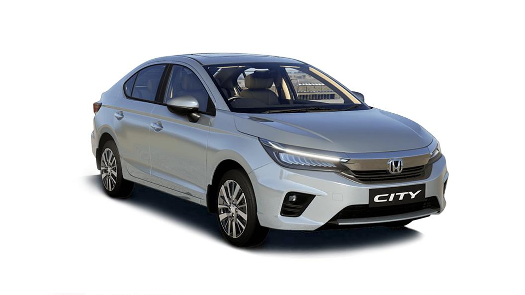 Honda  All New City Lunar Silver Metallic Colour