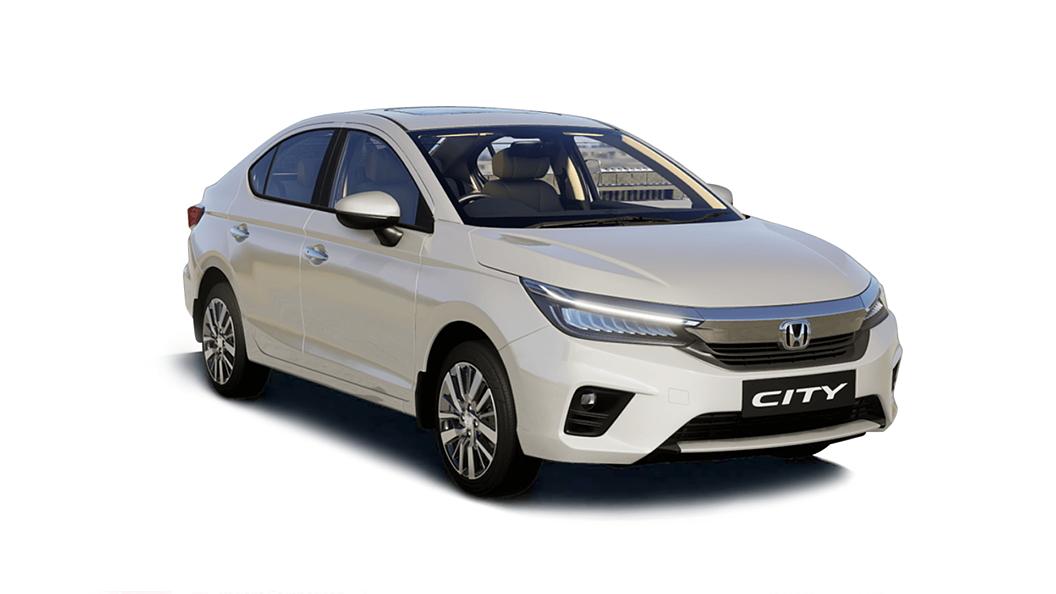 Honda  All New City Platinum White Pearl Colour