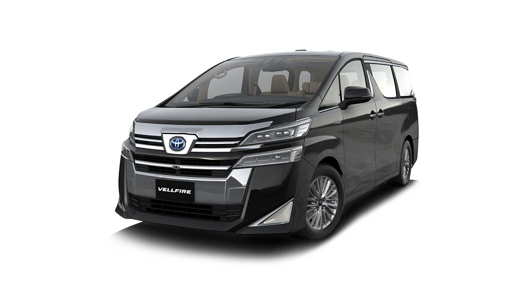 Toyota  Vellfire Black Colour