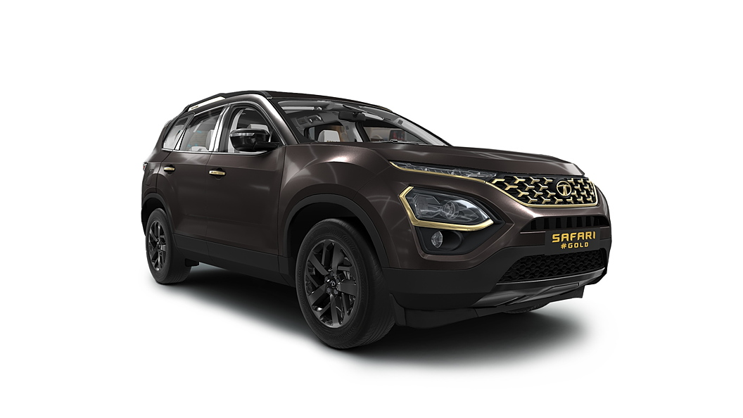 Tata  Safari Black Gold Colour