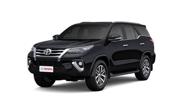 Toyota  Fortuner Attitude Black Colour