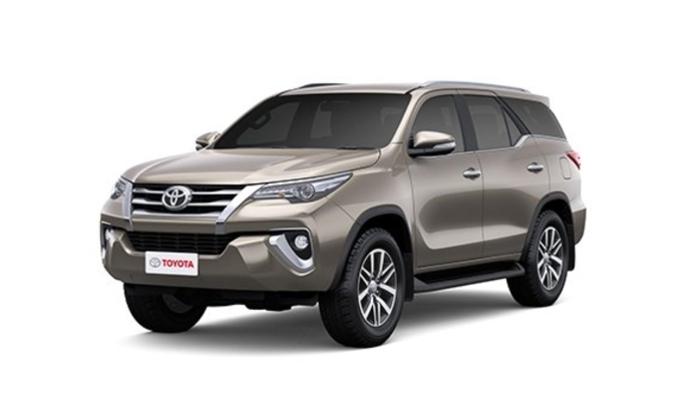 Toyota  Fortuner Avant Garde Bronze Colour